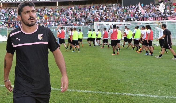 Palermo, Gattuso: 'Non penso all'esonero, bravo Hernandez'