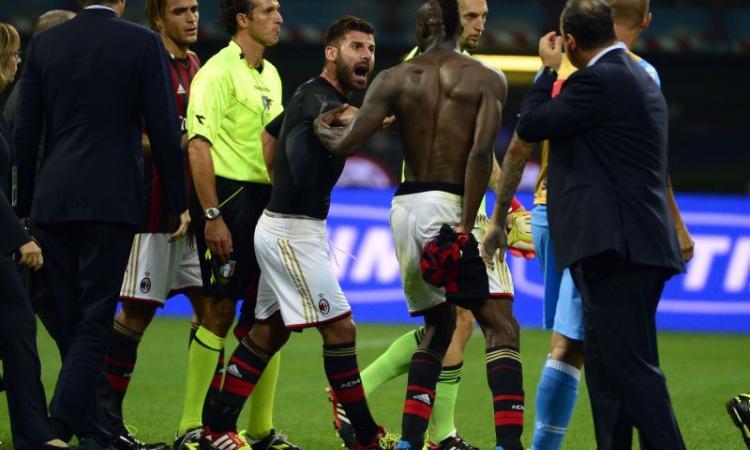 UFFICIALE, Milan: niente ricorso per Balotelli, che è anche infortunato