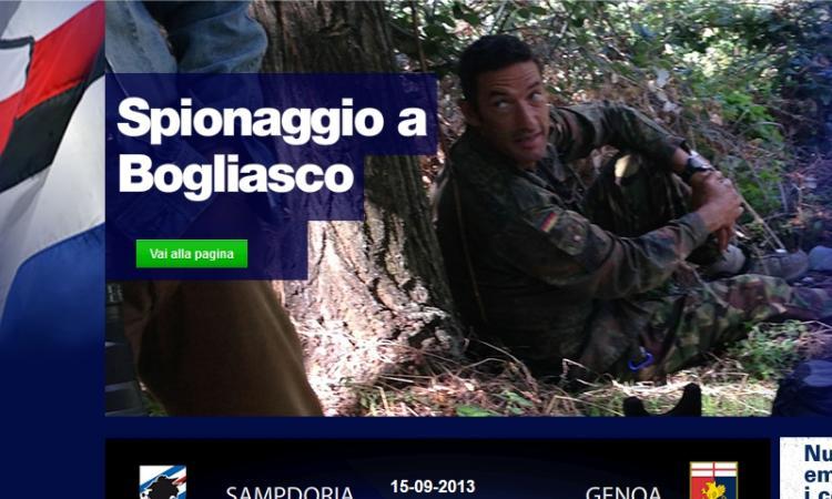 Spy derby: sospeso il 'Rambo' genoano