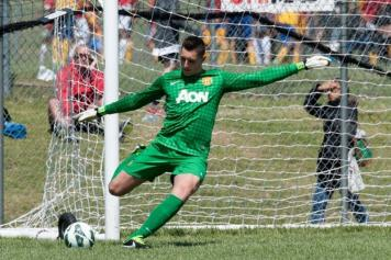 Gollini, portiere del Manchester United