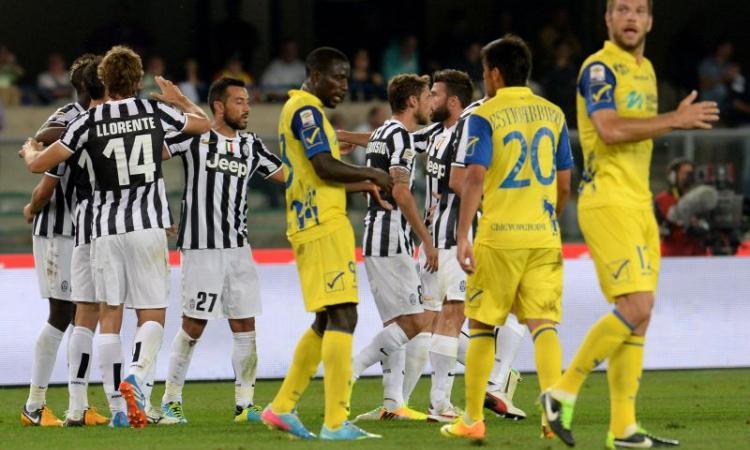 Un errore dell'arbitro spinge la Juve