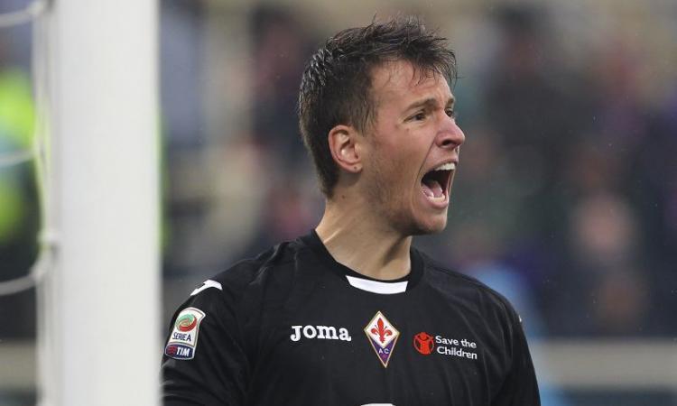 Fiorentina, Neto: 'Ho la fiducia di Montella'