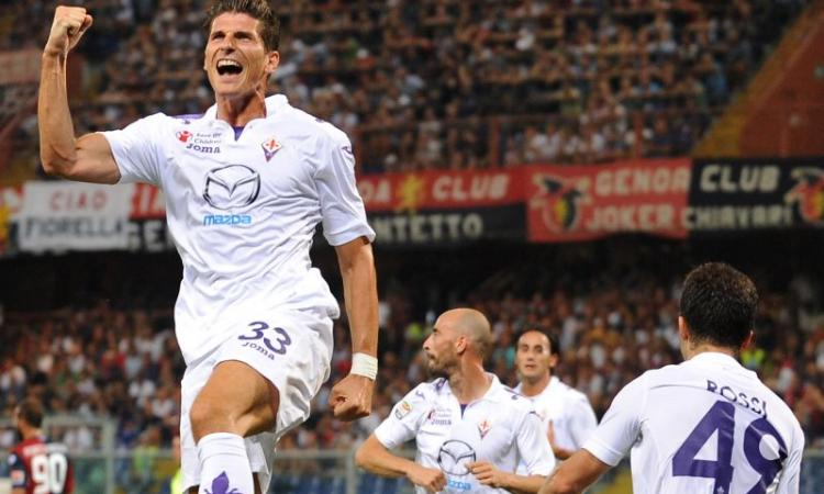 Fiorentina, Mario Gomez ha in testa una data