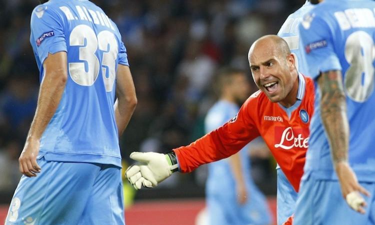 Napoli: contatti col Liverpool per Reina