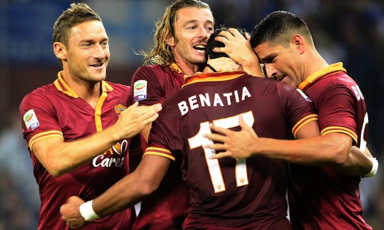 Serie A, Sampdoria-Roma 0-2: GOL e HIGHLIGHTS