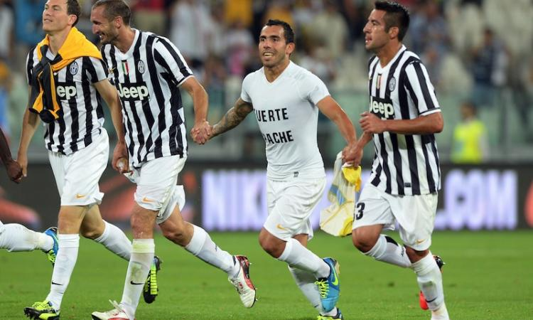 Inter-Juve: Campagnaro contro Tevez