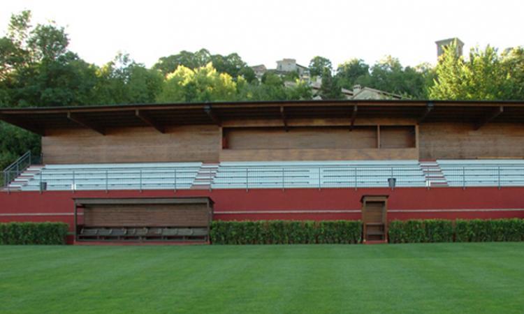 Lega Pro, storica prima in casa per il Castel Rigone di Cucinelli: stadio giardino senza barriere, rispetto per tutti
