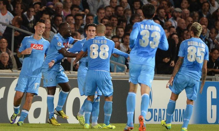 Napoli, una notte per la Champions