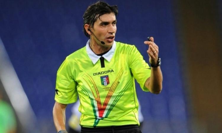 Roma-Torino: arbitra Calvarese