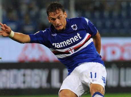 Sampdoria, idea scambio Gabbiadini-Simeone con la Fiorentina