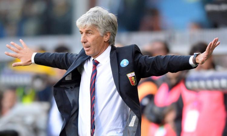 Genoa, Gasperini: 'Perotti simbolo, giù le mani da Kucka'