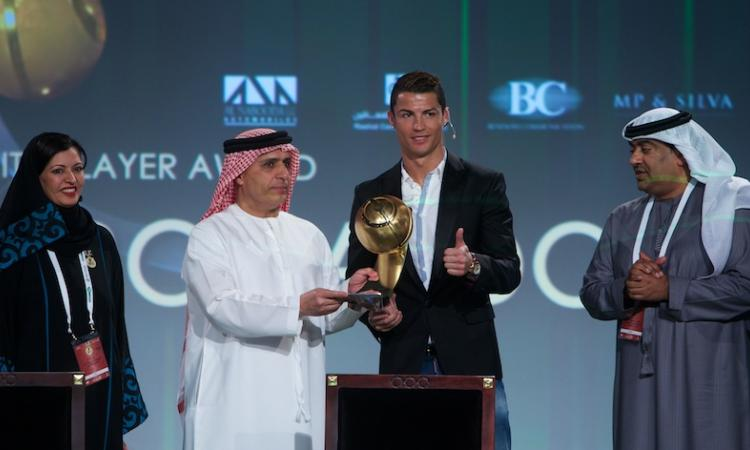 VIDEO: Globe Soccer Award, il trionfo del Real Madrid con sprazzi d'Italia