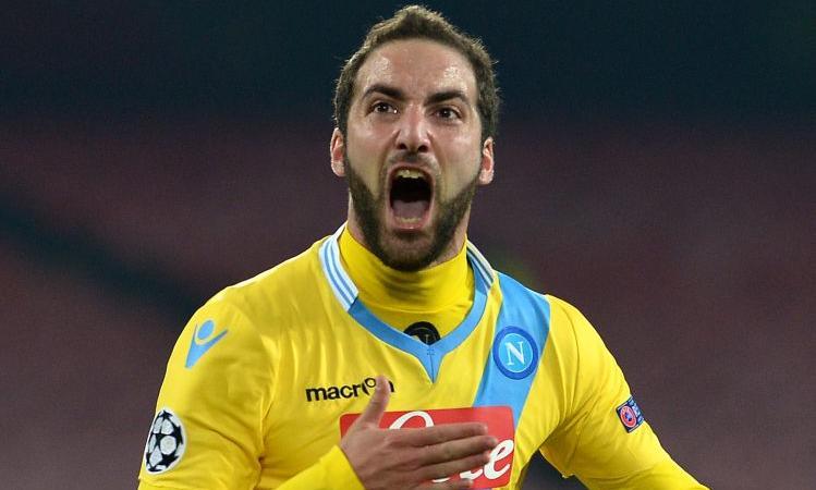 Napoli, sollievo Higuain: contro l'Inter ci sarà