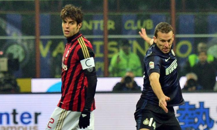 Milan, Kakà: 'I derby sono le partite che mi caricano di più'