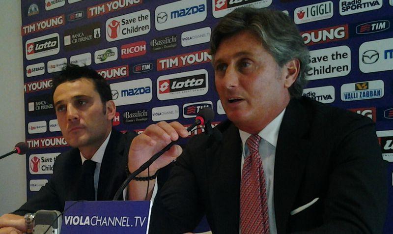 Fiorentina: torna Pradè e si conferma Montella