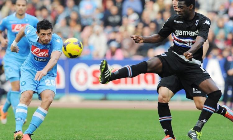 Napoli-Sampdoria: Obiang corre de Benitez
