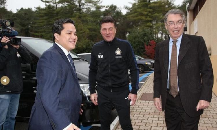 Per l'Inter raduno senza tifosi