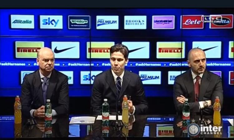 Inter, Hernanes parla al cuore dei tifosi: 'Mai stati in B. E la Juve si difendeva...' VIDEO