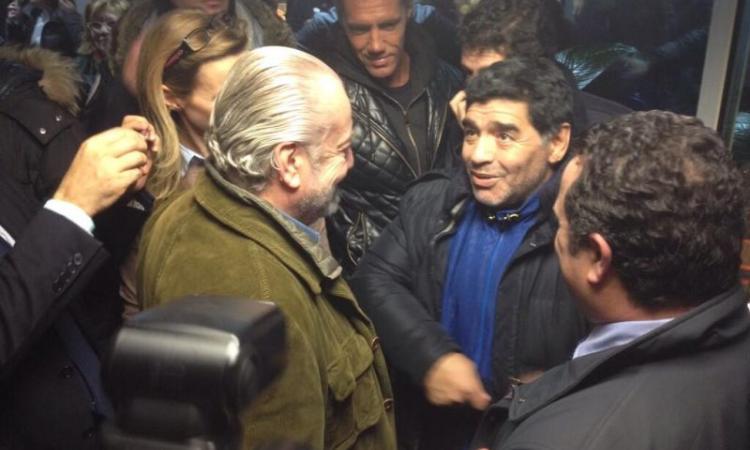 Maradona attacca: 'Juve, fuoriclasse in federazione. Il Napoli venderà Higuain'