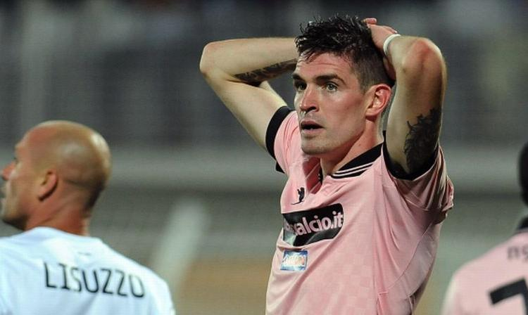 Palermo: Lafferty torna in Inghilterra