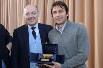 Antonio Conte, Beppe Marotta, foto sito Lega Serie A