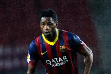 Alex Song pioggia