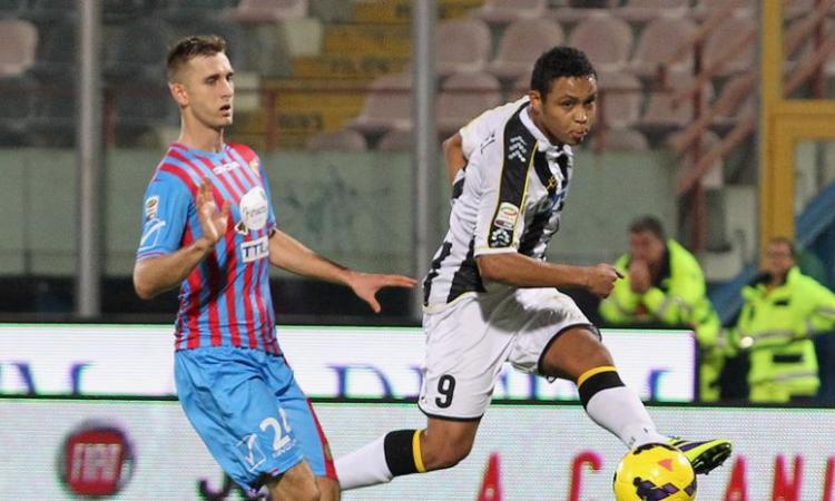 Sampdoria su Gyomber, il Catania respinge l'assalto