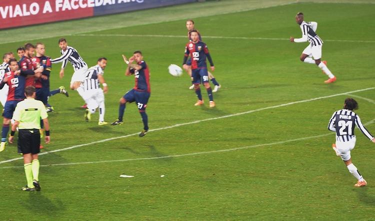 Genoa-Juve 0-1: Buffon e Pirlo decisivi