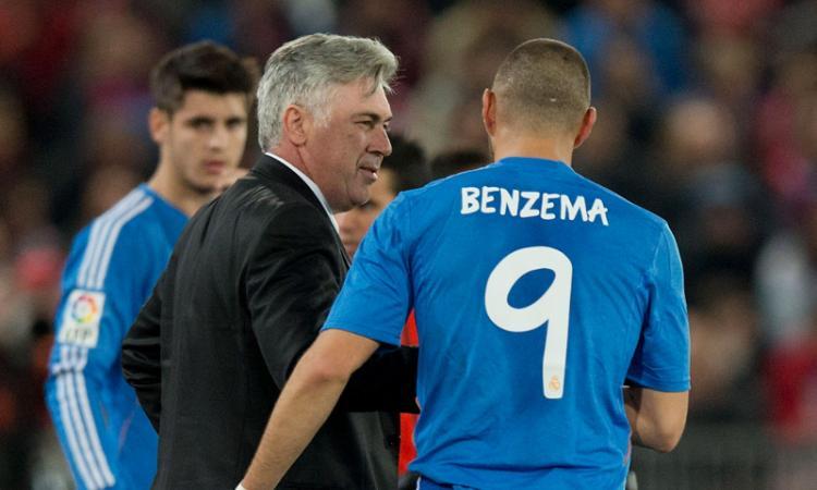 Napoli, retroscena Benzema-Ancelotti