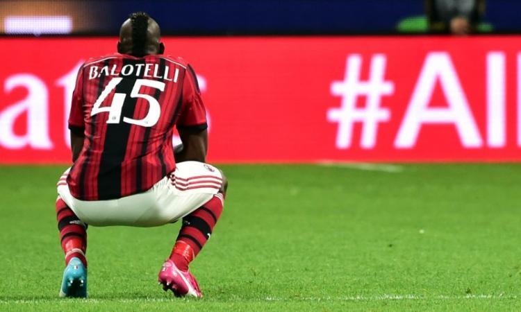 Milan: Balotelli offerto all'Arsenal!