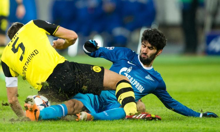 Verona, sempre vivo l'interesse per un difensore dello Zenit