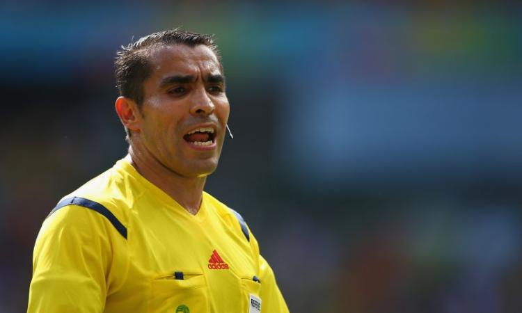 Italia, un arbitro messicano per l'Uruguay
