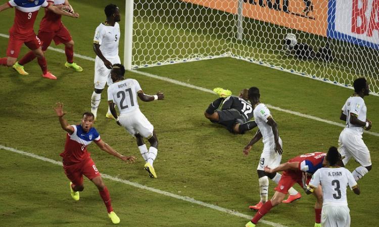 Rivincita Stati Uniti, 2-1 al Ghana