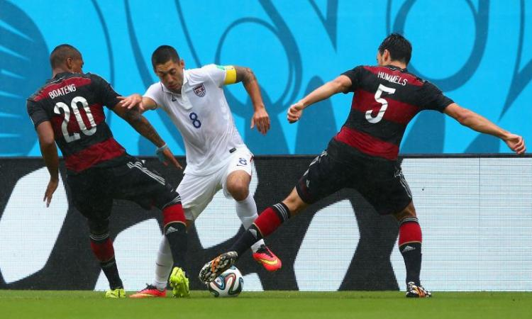 Usa-Germania 0-1: il tabellino