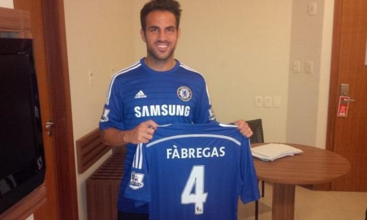 Chelsea, Fabregas: ecco quanto è quotato l'esordio con gol
