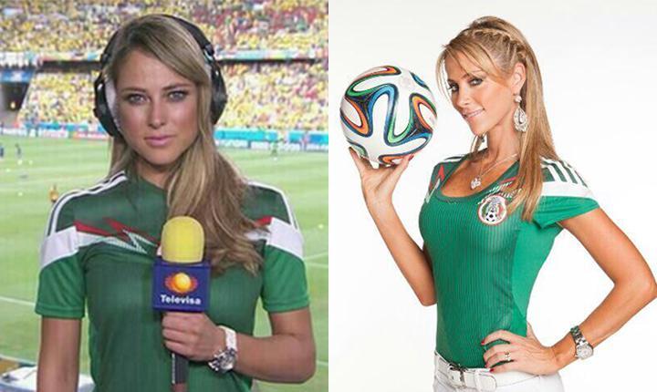 Il Messico ha vinto il Mondiale: Ines Sainz e Vanessa Huppenkothen le giornaliste più sexy GALLERY