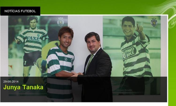 Sporting Lisbona, UFFICIALE: Preso Tanaka