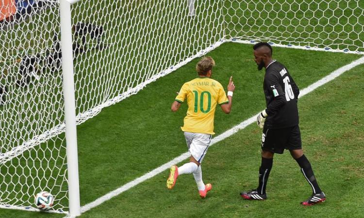 Camerun-Brasile 1-4: il tabellino
