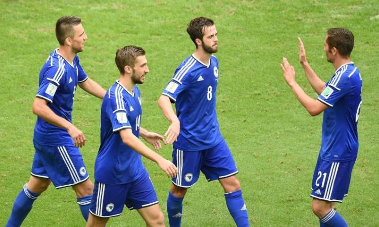 Bosnia-Iran 3-1, Dzeko e Pjanic in gol
