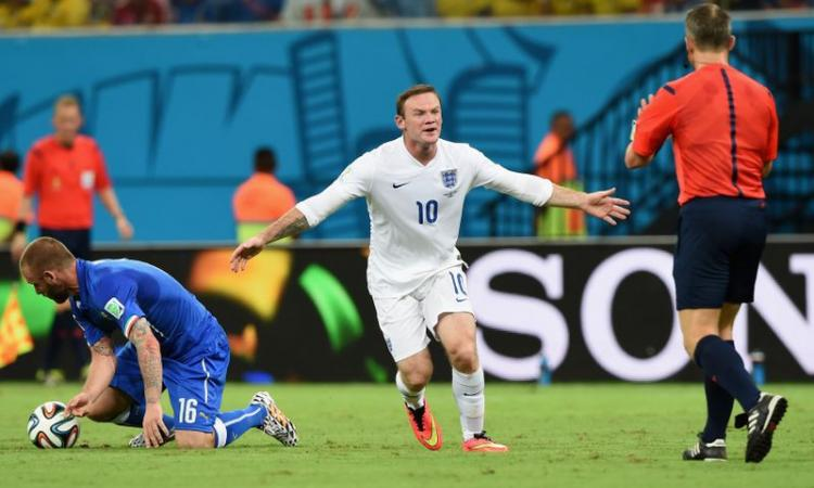 Brasile 2014, Inghilterra: Rooney con le riserve