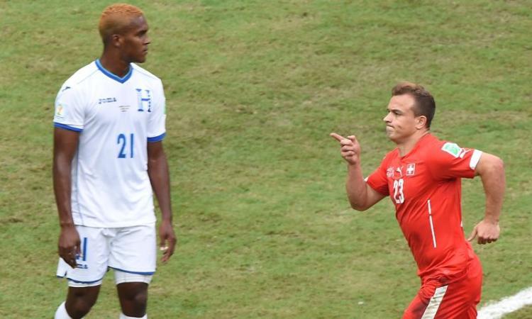 Honduras-Svizzera 0-3: il tabellino