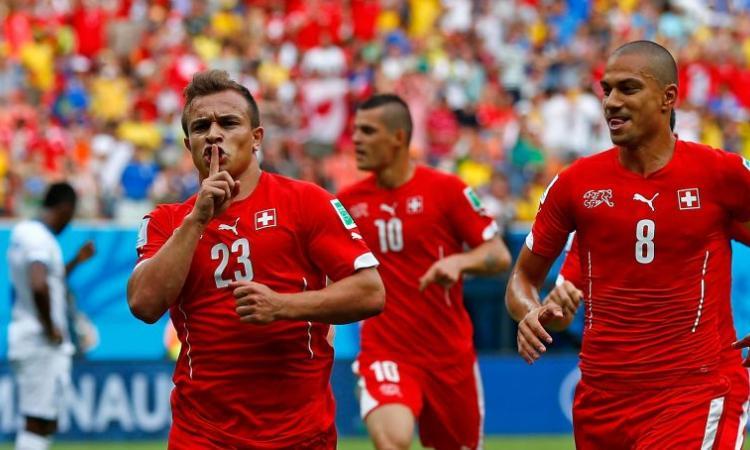 Honduras-Svizzera 0-3: una tripletta di Shaqiri regala la sfida con Messi