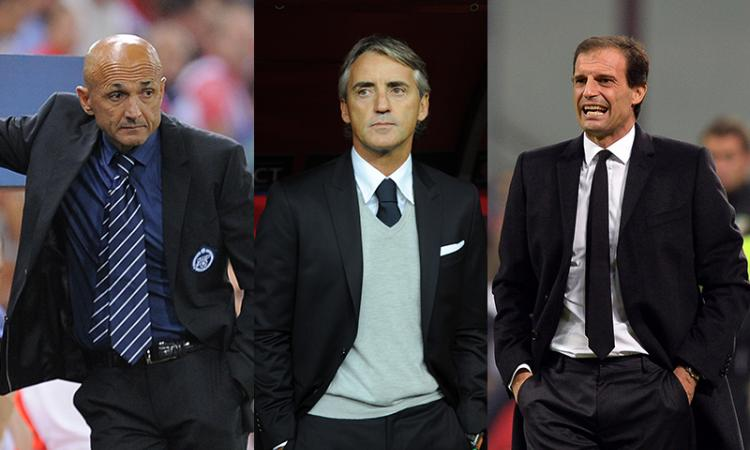 Nuovo ct Italia, corsa a tre: Spalletti, Mancini o Allegri. Albertini presidente?