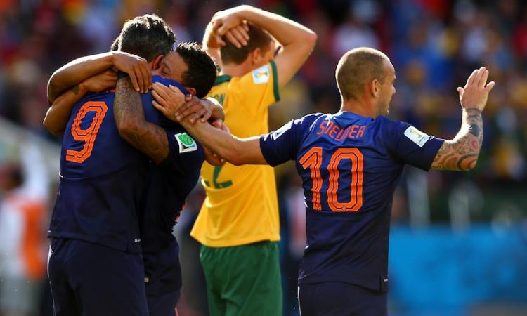 Brasile 2014: Australia-Olanda 2-3, il FOTORACCONTO