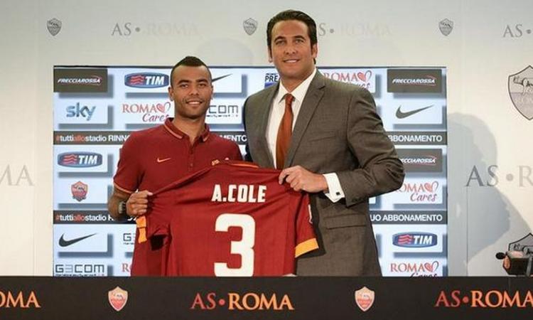 Ex Roma, si ritira Ashley Cole