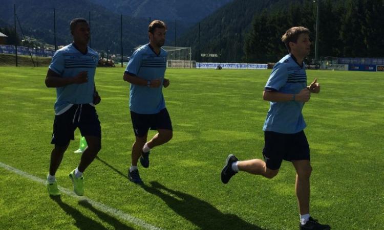 Lazio, qui Auronzo: continuano le prove tattiche
