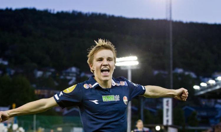 Juve in Norvegia per Odegaard