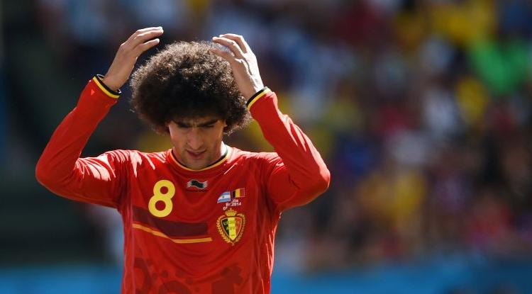 Belgio, infortunio al ginocchio per Fellaini