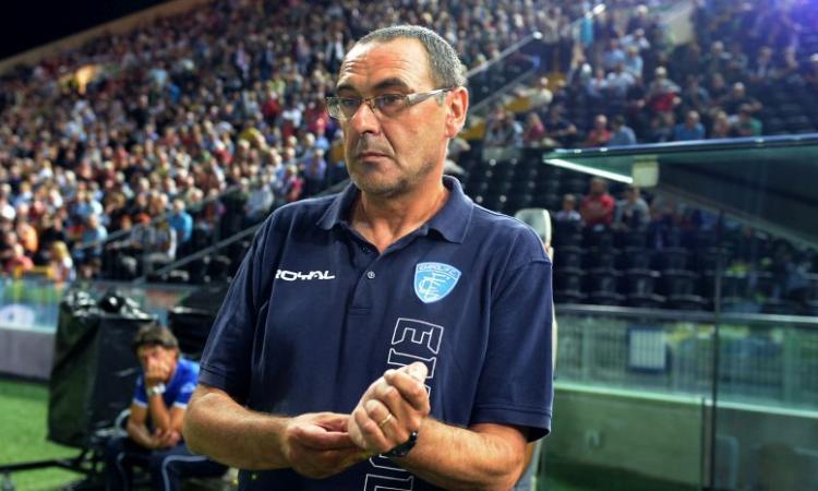 Empoli, Sarri: 'Un tempo per parte'