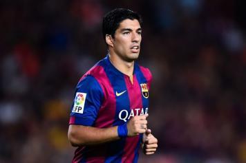 Suarez Barcellona debutto